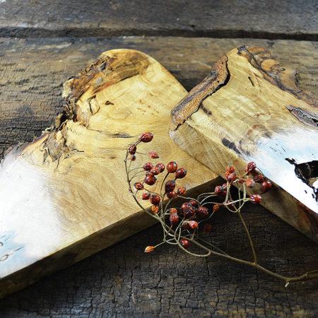 Holzobjekte Buchenknolle