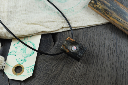 Kettenanhänger Buckeye & Opal