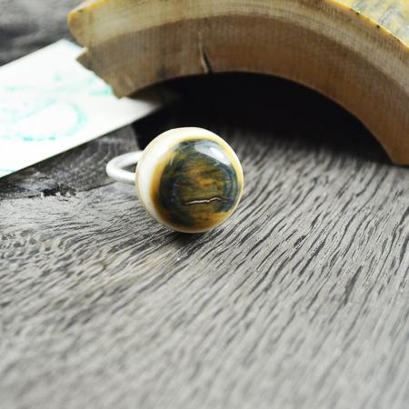 Ring Mammut-Elfenbein